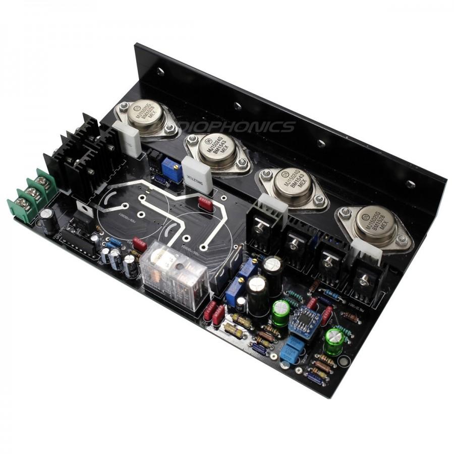 Mj15024 Bipolar 2x75w 8 Ohm Stereo Amplifier Class Ab Audiophonics 140w Power