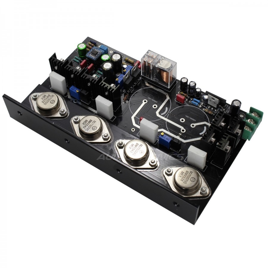 Mj15024 Bipolar 2x35w 8 Ohm Stereo Amplifier Class Ab Audiophonics Universal Power Supply With Ic78xx And Mj2955 Module High Fidelity Amplification