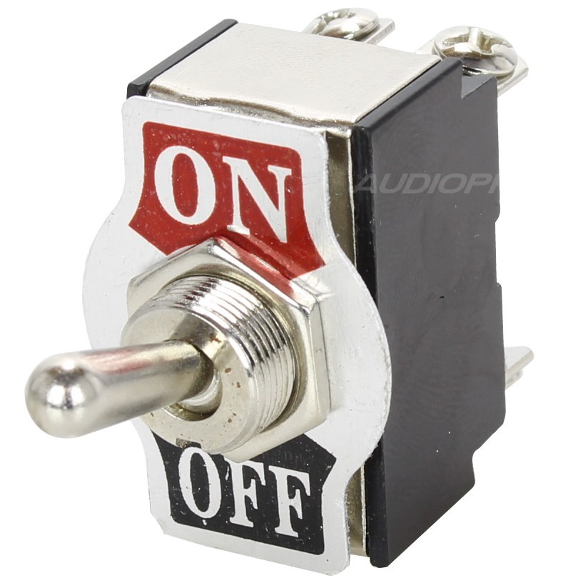 2 Poles Aviation Type Toggle Switch ON-OFF 250V 10A