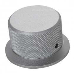 Silver Metal button 50mm for DIY Chassis