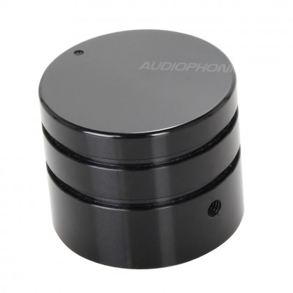 Bouton Aluminium Axe Méplat 30mm Ø6mm Noir pour Boîtiers DIY