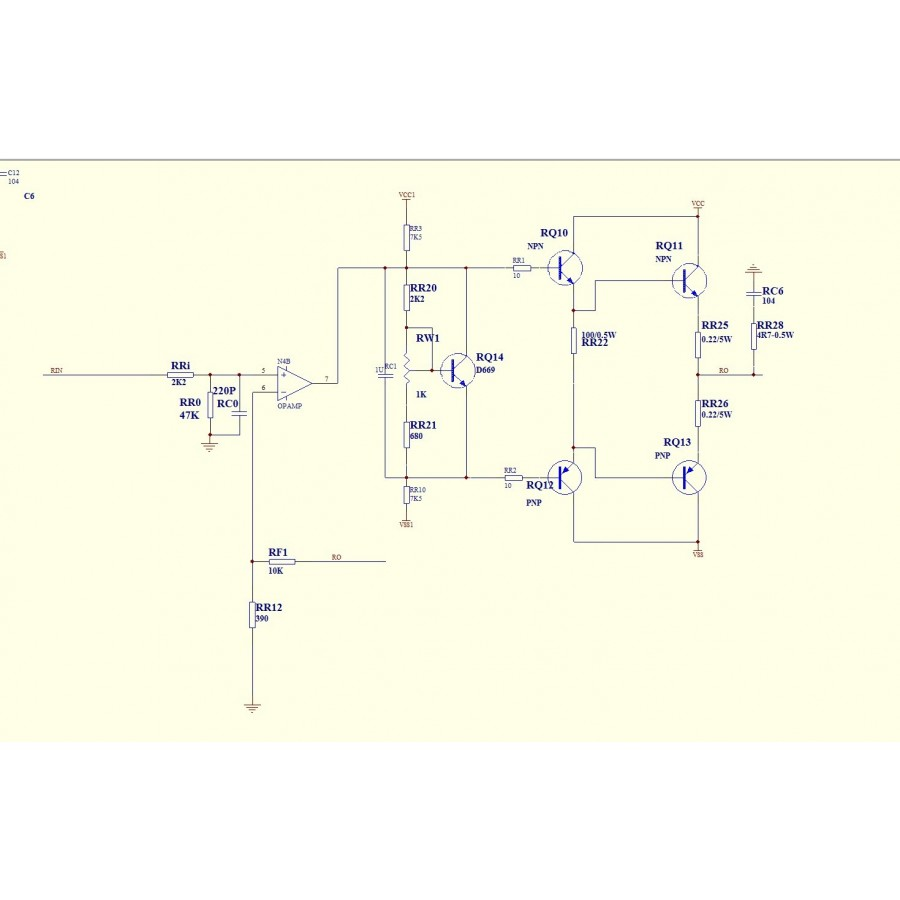 Mj15024 Bipolar 2x35w 8 Ohm Stereo Amplifier Class Ab Audiophonics Xh Wiring Diagram Scheme Amplification Connection