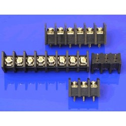 Terminal block for 6-pole universal circuit board