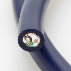 ELECAUDIO CS-321B OCC Power Cable OCC FEP 3x2.5mm² Ø 12mm