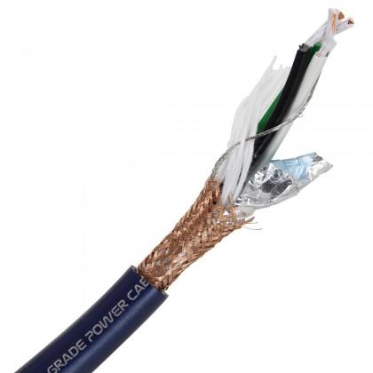 ELECAUDIO CS-321B OCC Câble Secteur OCC FEP 3x2.5mm² Ø 12mm