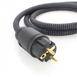 ELECAUDIO Câble Secteur OCC FEP 3x2.5mm² C13 1.5m