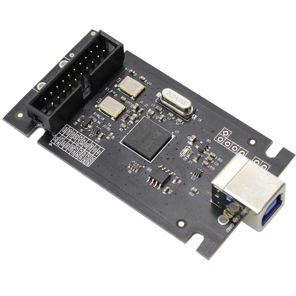 AUDIOPHONICS XMOS U8 Interface USB vers I2S 32bit/384kHz DSD