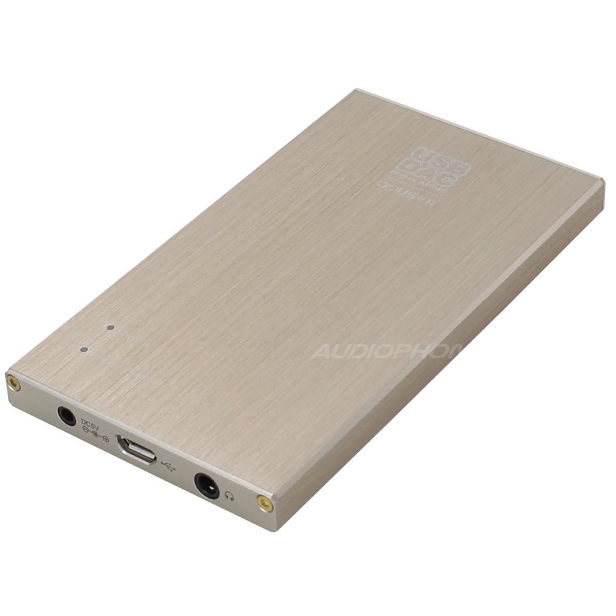 OPUS 11 Slim DAC USB 32Bit / 384kHz ES 9018 Android iOS DSD sur batterie