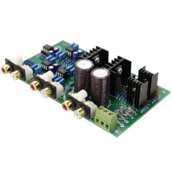 Module filtre actif Linkwitz-Riley Crossover 2200Hz -24db/Oct Class-A 2 voies