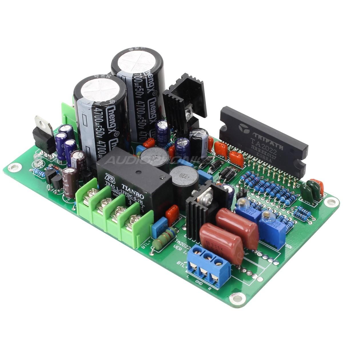 LJ TA2022 V 1.2 Amplifier Module Class T 2x90W 4 ohms