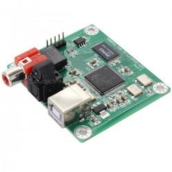 LJ CM6631A V 1.3 Interface USB vers I2S / SPDIF 24bit/192kHz