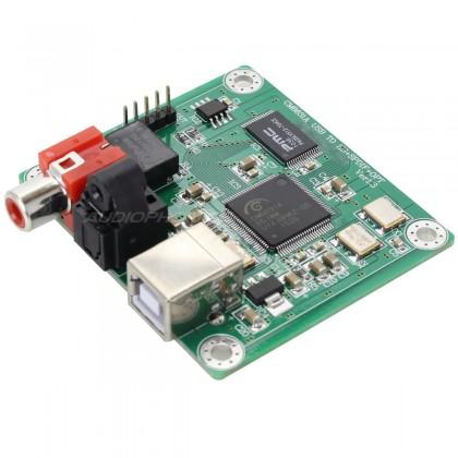 LJ CM6631A V 1.3 Digital interface USB to I2S / SPDIF 24bit/192kHz