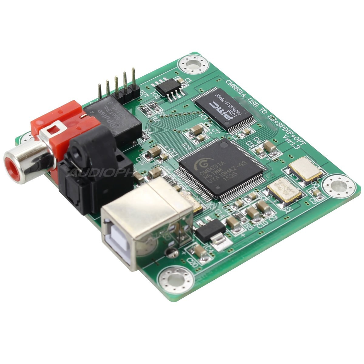 LJ CM6631A V 1.3 USB to I2S / SPDIF interface 24bit / 192kHz