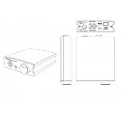 Aune X7S Amplificateur Casque Classe A Sorties Symétriques.
