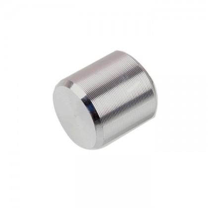 Bouton Axe Carré 10x10mm 3mm Argent pour Interrupteur