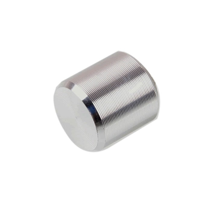 Button Square Shaft 10x10mm 3mm Silver for Switch