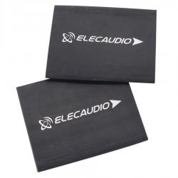 ELECAUDIO Gaines Thermo Rétractables 3:1 Ø25mm pour Câbles Noir (x2)
