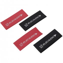 ELECAUDIO Heatshrink 3:1 Sleeves Ø12mm Red and Black (x4)