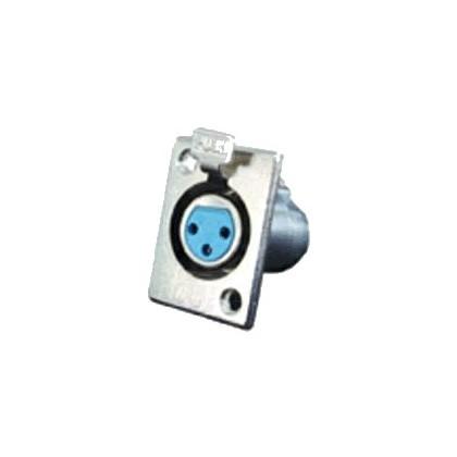 Embase XLR métal Femelle