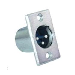 Embase XLR métal Mâle