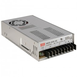 Power Supply Mean Well MW NES-350-36 36 VDC 9.7A 350W Regulated Switching