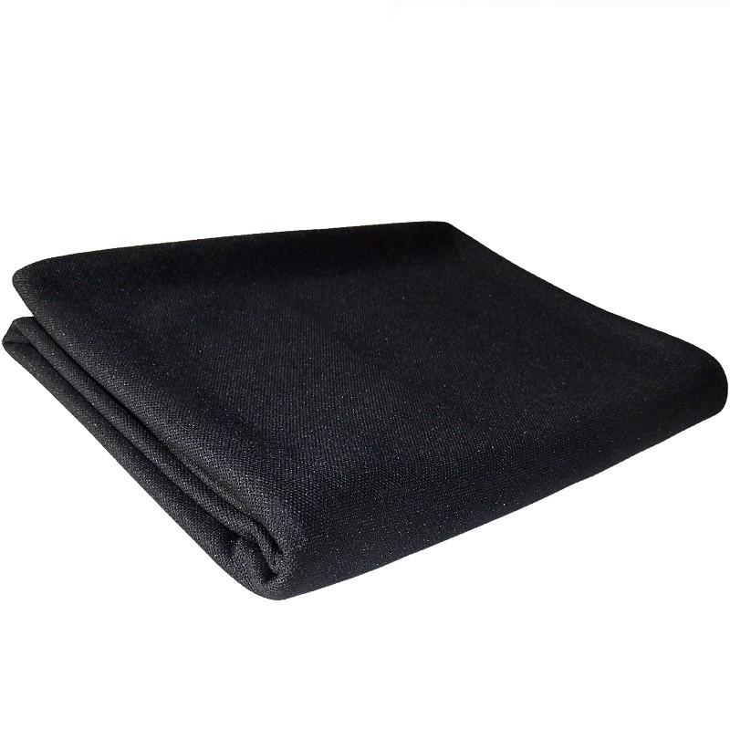 JANTZEN AUDIO Tissu Acoustique pour Grilles Hauts-Parleurs 175x100cm Noir
