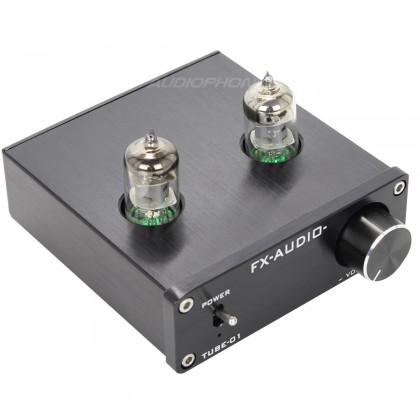 FX Audio TUBE-01 Préamplificateur à Tube 6J1 Stéréo noir