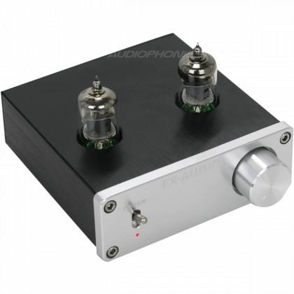 FX Audio TUBE-01 Préamplificateur à Tube 6J1 Stéréo Silver