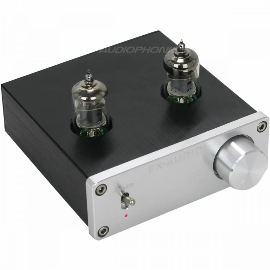 FX-AUDIO TUBE-01 Valve 6J1 Stereo preamplifier Silver