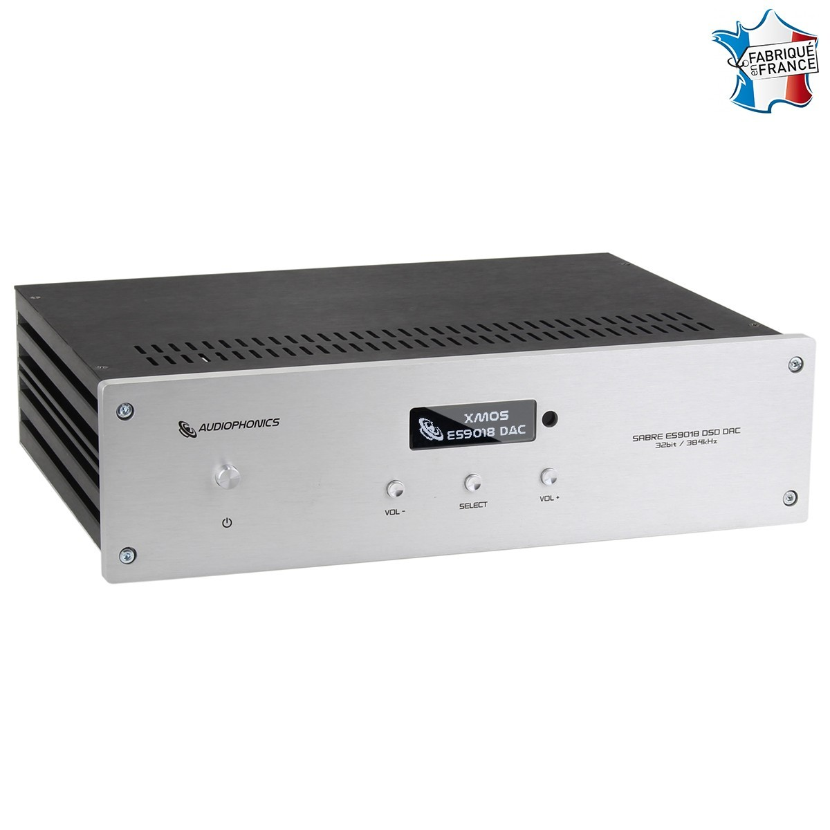 AUDIOPHONICS DAP / DAC Sabre ES9018 Raspberry PI DAC