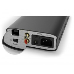 MATRIX M-STAGE HPA-2 Classic DAC USB DSD Amplificateur Casque Class A Silver