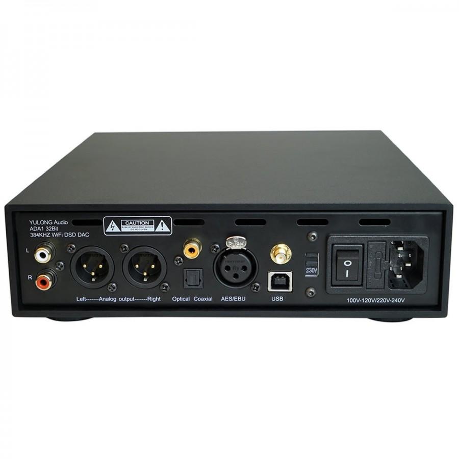 yulong audio ada1 dac usb airplay dlna ampli casque dsd 32bit 384khz noir audiophonics. Black Bedroom Furniture Sets. Home Design Ideas