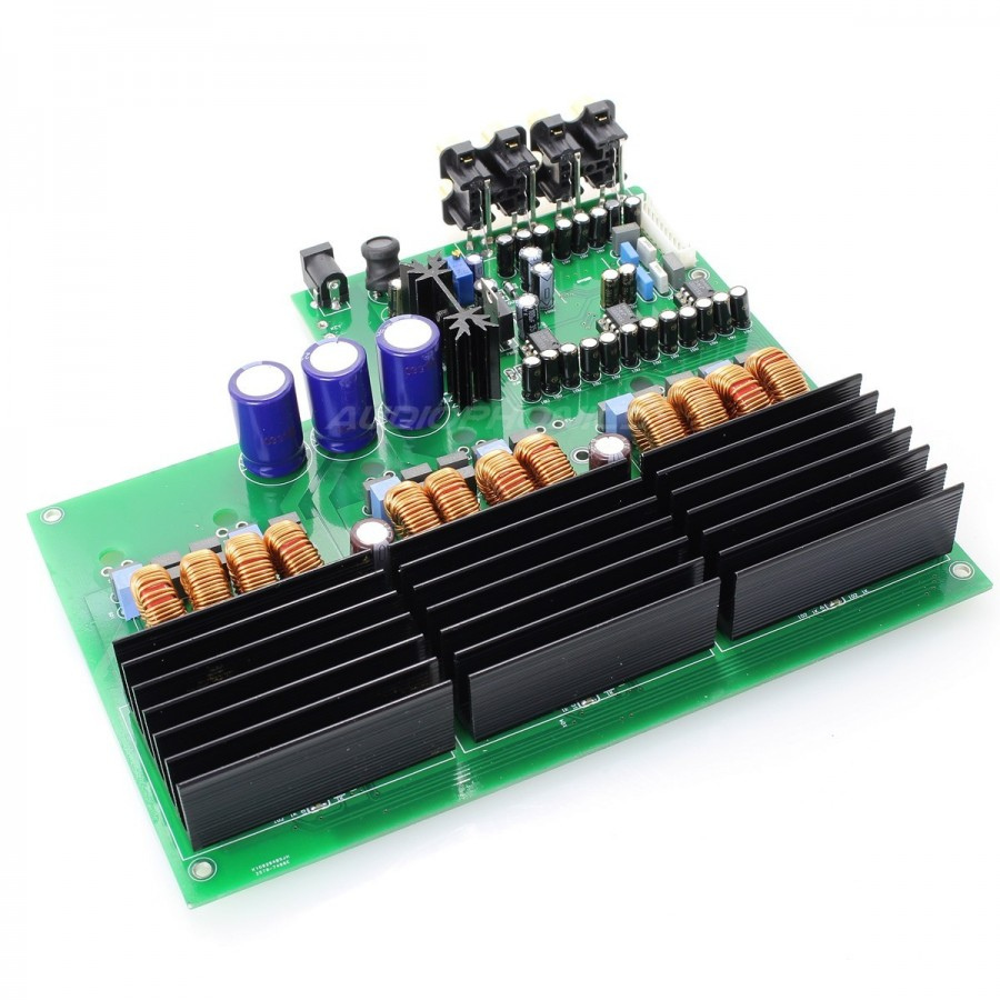 6 channels tda 7498 class d amplifier module 6x100w 4 ohm. Black Bedroom Furniture Sets. Home Design Ideas