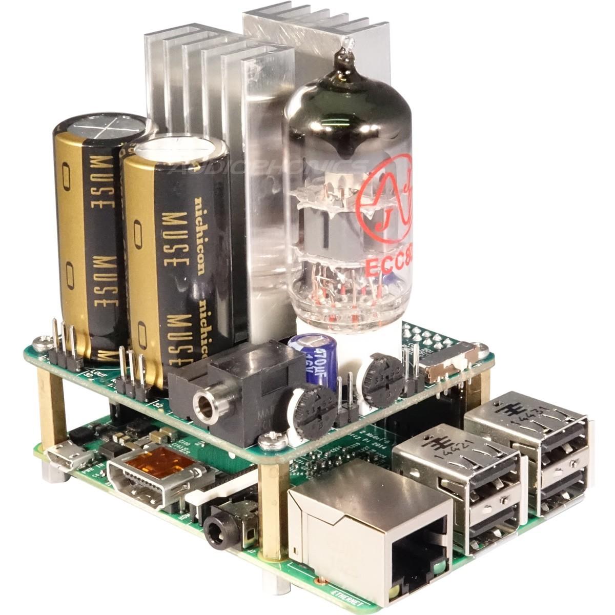 Pi 2 Design 503HTA I2S DAC Hybrid Tube Amp for the Raspberry Pi