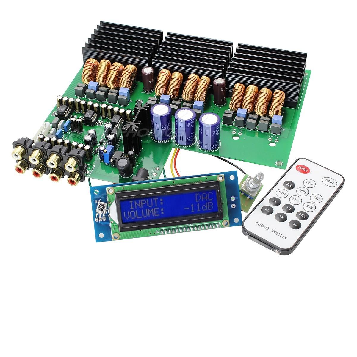 6 channels TDA 7498 class D Amplifier Module 6x100W 4 Ohm