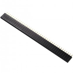 Single Row Straight Female 2.54mm 40 Pin Connector Strip
