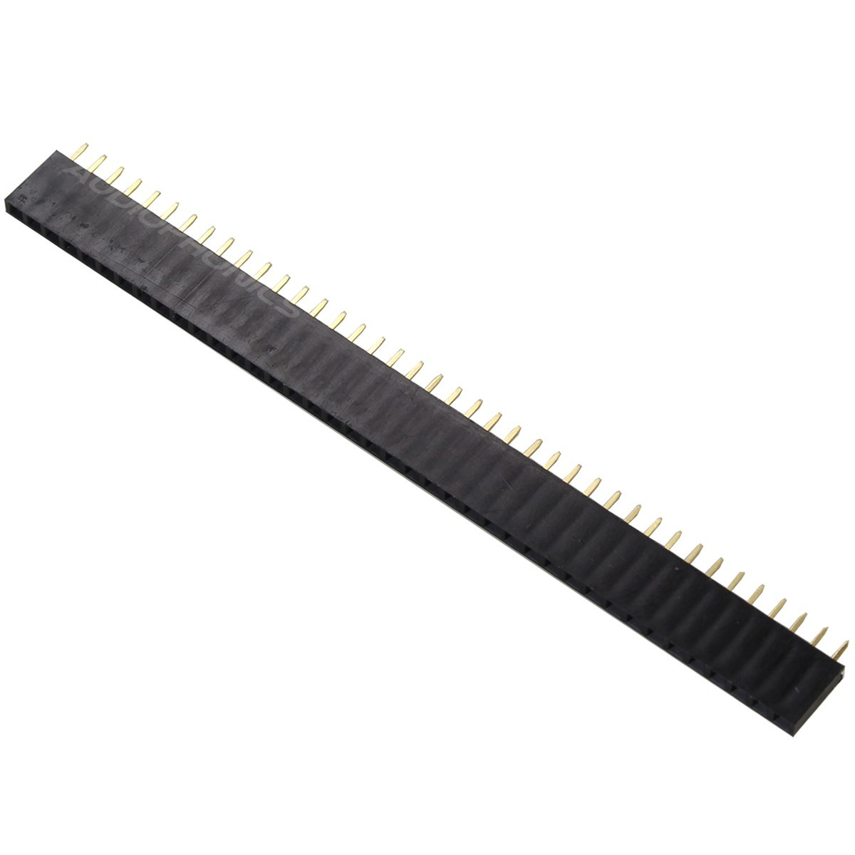 2.54mm Female Pin Header 40 Pins 3mm (Unit)
