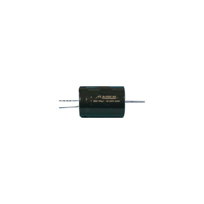 Mundorf M-Lytic HV 500V Condensateur axial 100µF