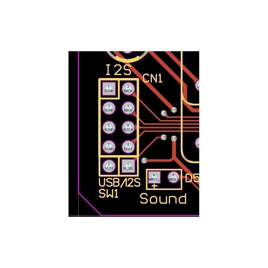 AUDIOPHONICS U-Sabre USB DAC 24Bit/96kHz SA9023 / ES9023 OTG V2 2E