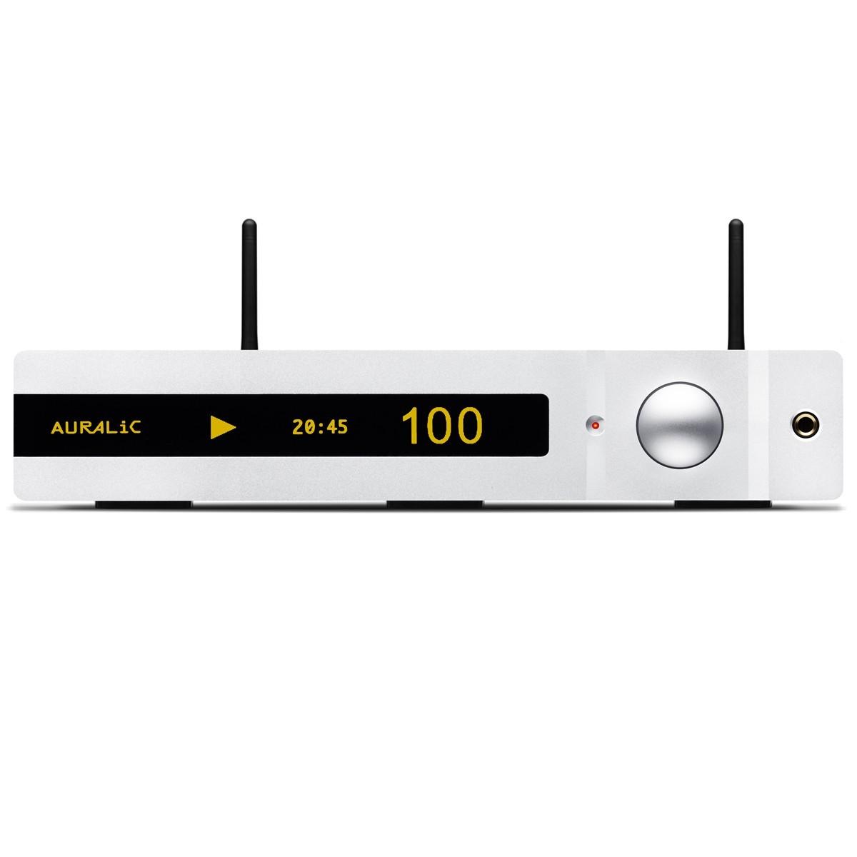 AURALiC Altair Lecteur Réseau DAC 32bit 384khz AES/EBU Femtoclock Argent