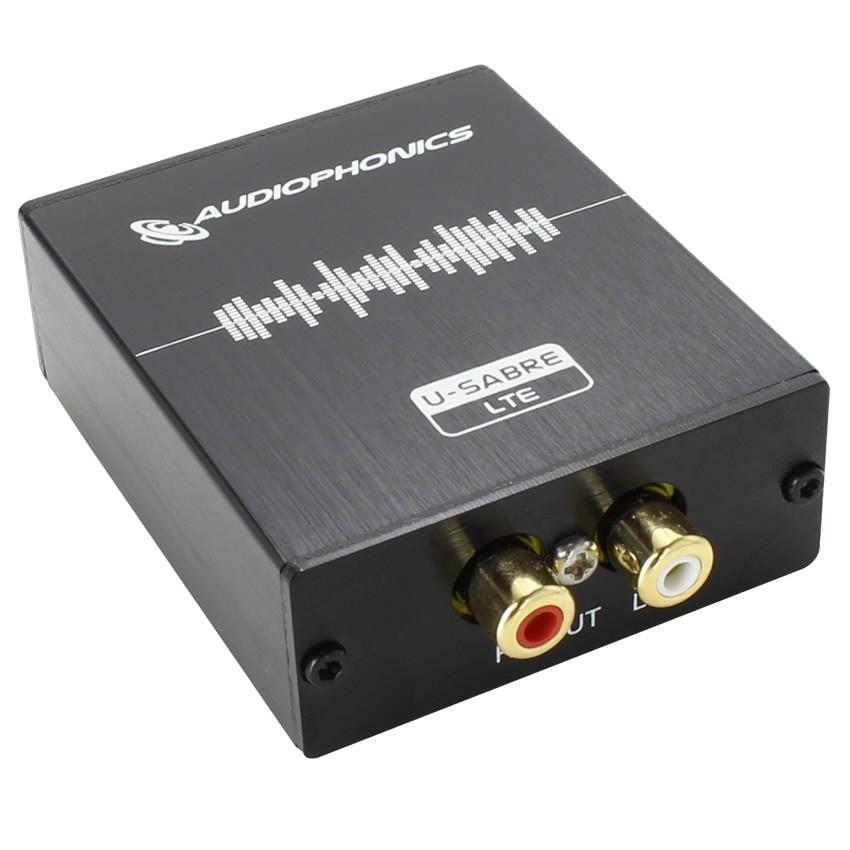AUDIOPHONICS U-Sabre LTE USB DAC 24bit/96kHz SA9023 / ES9023 Asynchrone