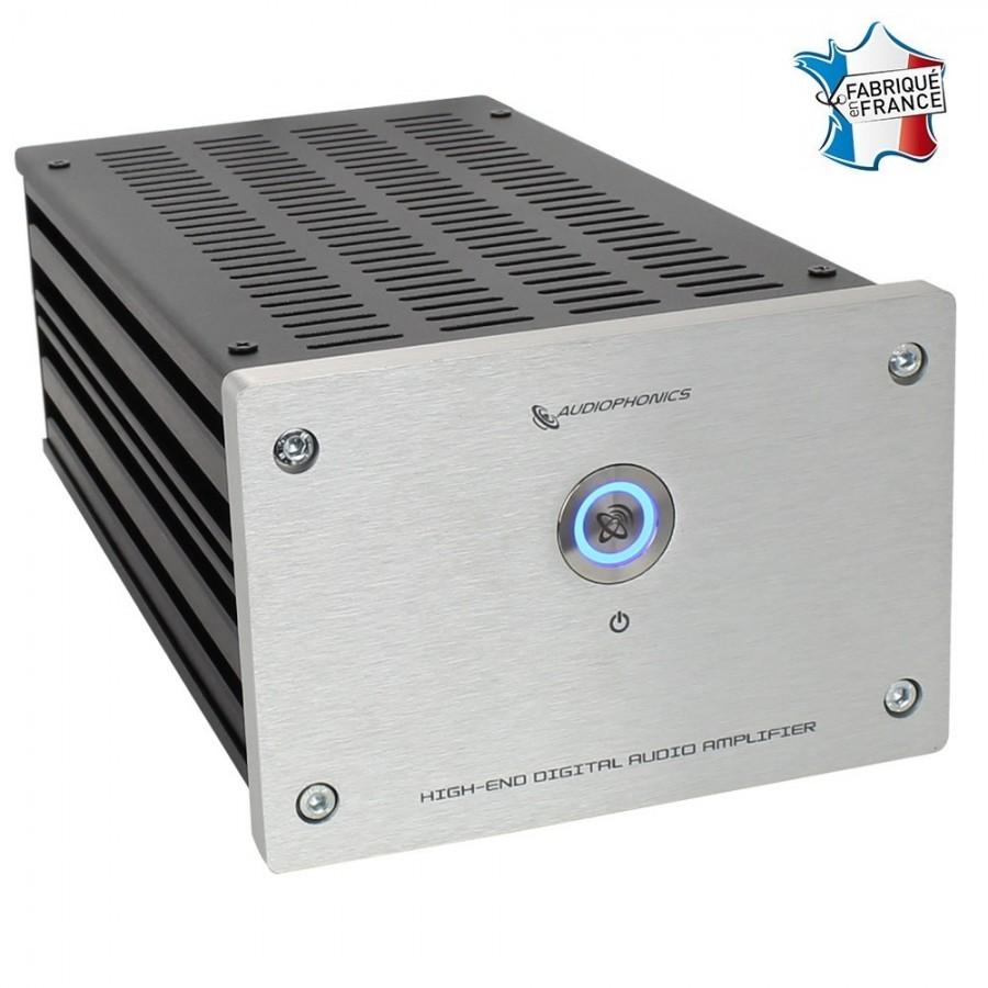 audiophonics tda8954 high fidelity amplifier class d 2x 90w 8 ohm silver audiophonics. Black Bedroom Furniture Sets. Home Design Ideas