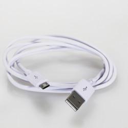 Câble USB-A Mâle / Micro USB-B Male 2.0 1.5m Blanc