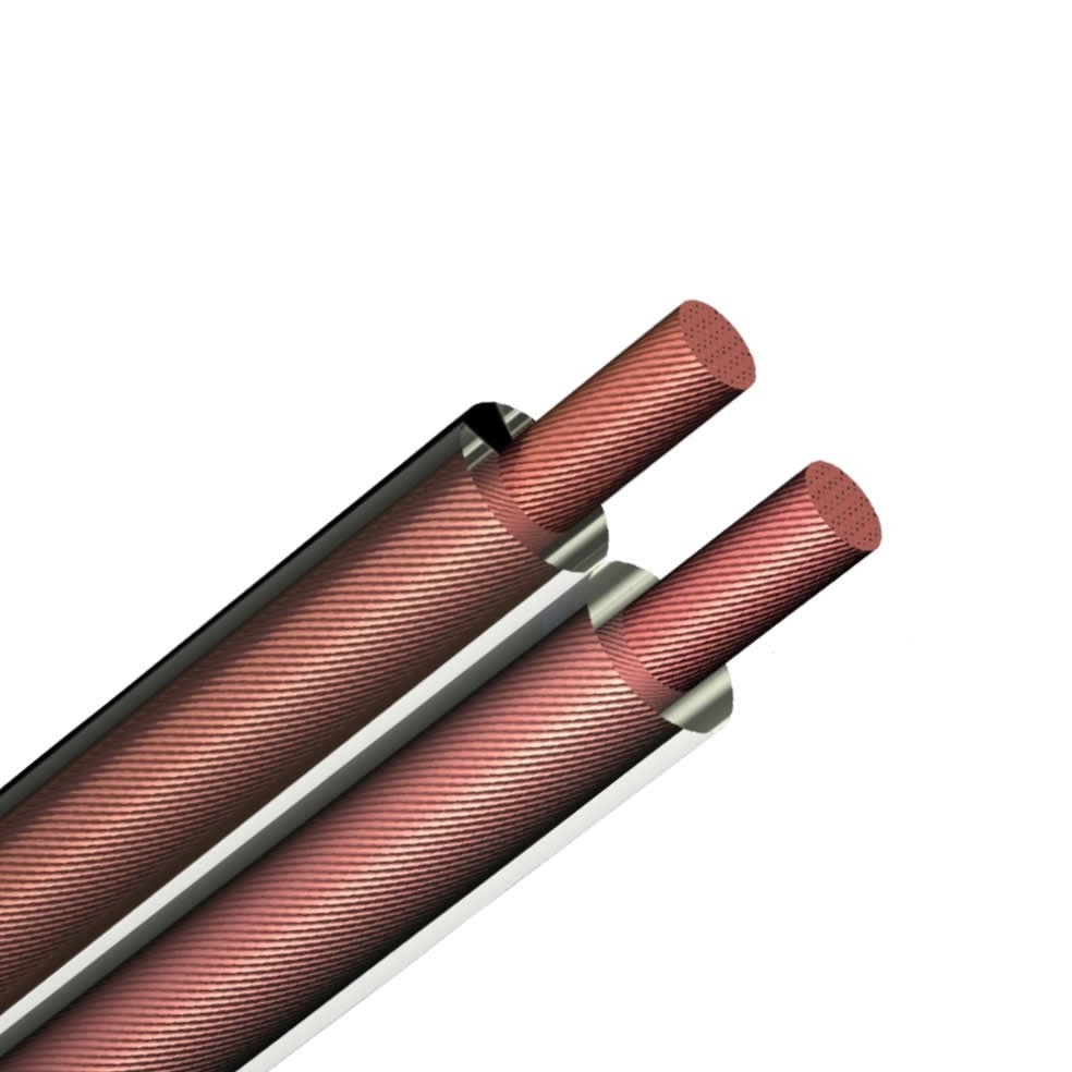 ELBAC Câble haut-parleur Cuivre OFC 2x0.75mm² Ø 2.1mm