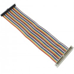 GPIO Extender cable male female 40 Pin for Raspberry Pi A+ / B+ / Pi 3 / Pi 2 20cm