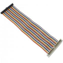 Nappe d'Extension GPIO Mâle / Femelle 40 Pins pour Raspberry Pi A+ / B+ / Pi 3 / Pi 2 20cm