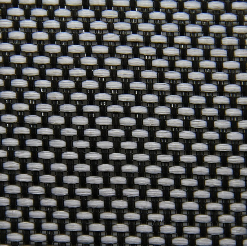 Acoustic Fabric for Loudspeakers Grill 150x100cm White and Black