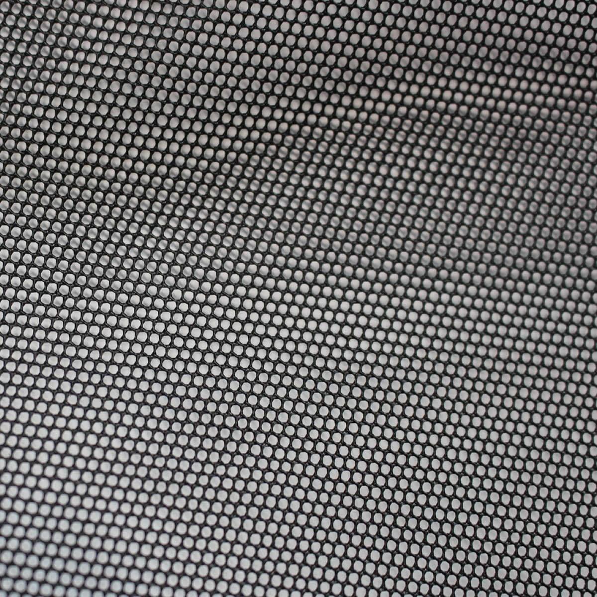 Tissu Acoustique pour Grilles Hauts-Parleurs 150x100cm Noir
