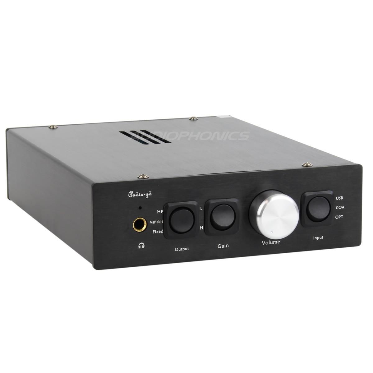 AUDIO-GD NFB-11 DAC ES9018 / Préampli / Ampli casque DSD 32bit / 384kHz