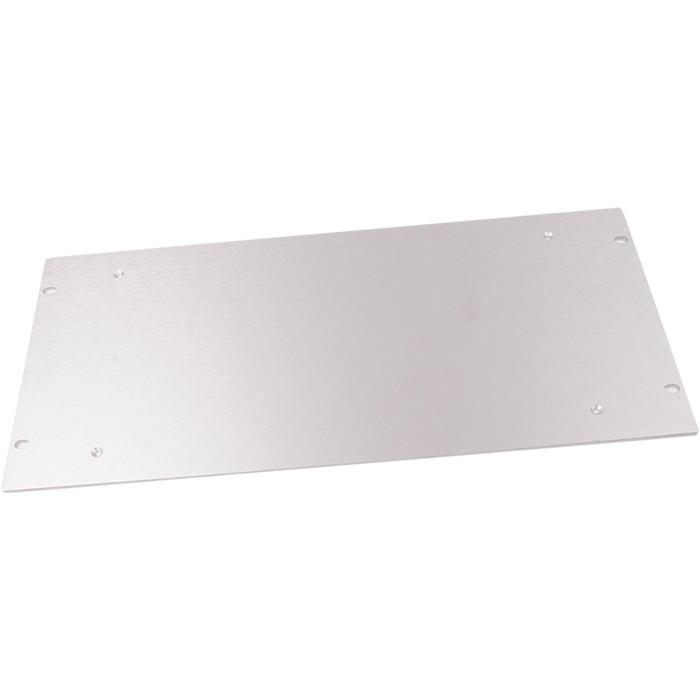 HIFI 2000 Façade aluminium 4mm Silver pour boitier Slimline 2U